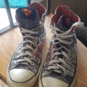 Superman Converse Hi-top sneakers US 8 M